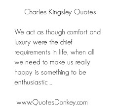 Charles Kingsley's quotes, famous and not much - QuotationOf . COM