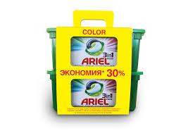 <b>Гель</b> капсулы для <b>стирки ARIEL color</b> 30X27 г: оптовые цены в ...