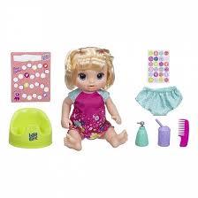 <b>Кукла Baby Alive Малышка</b> блондинка танцующая 37,6 см ...