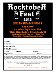 car show registration ticket s on your website get rid of the pdf printed registration forms