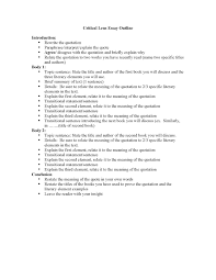 lense essay critical lense essay