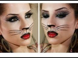 po a po y cat para carnaval y cat makeup tutorial