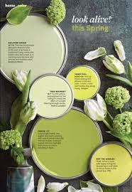better homes and garden magazines april color palette is so pretty and inspiring for spring bhg living rooms yellow