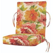 resistant outdoor classic highback chair cushion