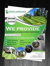 landscaping flyer design galleries for inspiration flyer design by debdesign debdesign