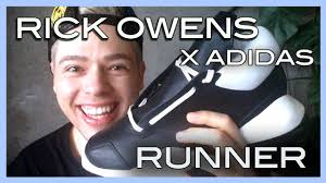 review <b>Rick Owens x adidas</b> sneakers ss14 - YouTube