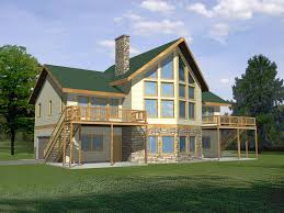 Glenford Bay Waterfront Home Plan D    House Plans and MoreGlenford Bay Waterfront Home  HOUSE PLAN