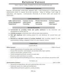 professionally written assistant resume example resumebaking in this case areas such as technical support s support office administration data entry and customer service are mentioned