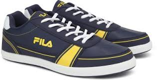 Fila RABBIE PU SNEAKER For Men(Multicolor, Nvy/yel - flipkart.com ...
