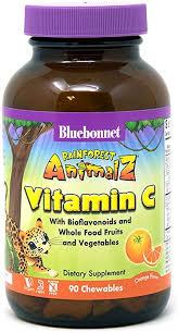 Bluebonnet Nutrition Rainforest Animalz Vitamin C ... - Amazon.com