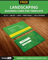10 best card design template psd designyep this simple and unique business card is created particularly for gardening landscaping lawn care farm etc this card has 2 sides