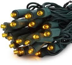 gki bethlehem lighting 50 light 5mm wide angle flexchange led amber mini christmas light set buy gki bethlehem lighting