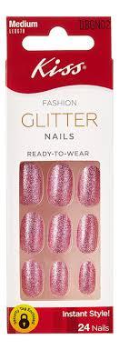 Купить <b>накладные ногти розовый жемчуг</b> fashion glitter nails ...