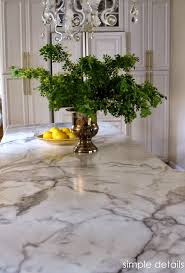 calacatta marble kitchen waterfall: i revealed our formica fx calacatta marble counter top