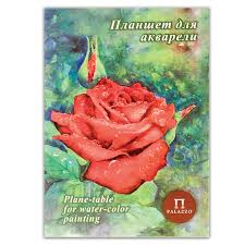 Папка для акварели планшет PALAZZO Алая роза ПЛАР/А4 20 л ...