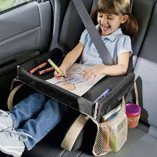 <b>Auto</b> Stowing Tidying <b>Car</b> Storage Table <b>Children</b> Safety Seat Tray ...