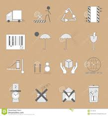create parcel sign on brown background royalty stock image create parcel sign on brown background