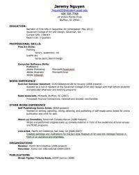 doc example resume first job sample resume work skills for resume work skills resume skills profile for