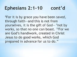 Image result for ephesians 2:1~9