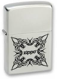Купить <b>Зажигалка ZIPPO Tattoo Design</b> Satin Chrome <b>205 Tattoo</b> ...