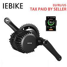 <b>48V500W</b> Bafang BBS02 brushless mid drive motor for <b>bicycle</b> ...