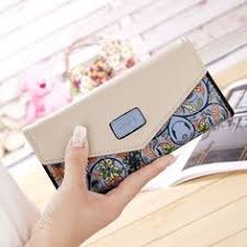 Hot Luxury <b>Long Designer Famous Brand</b> Clutch Ladies Leather ...