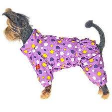 <b>Happy Puppy комбинезон</b> для собак <b>Конфетти</b> XL сиреневый