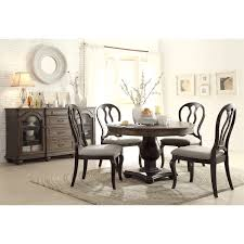 Old World Dining Room Sets Riverside 15851 15852 15854 15854 Belmeade 5 Piece Round Dining