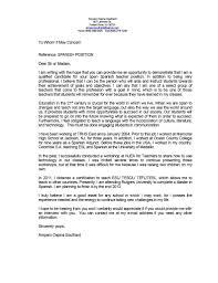 teacher cover letter template sample job resume samples teacher cover letter examples experience