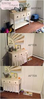 ok so i love my cat dearly but i couldnt take the litter box cat litter cabinet diy