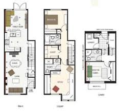 The Savannah  Nashville Townhouses  Germantown   thandm com    Image result for townhouse floor plans   garage