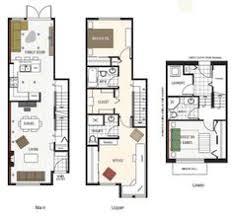 The Savannah  Nashville Townhouses  Germantown   thandm com    Image result for townhouse floor plans   garage