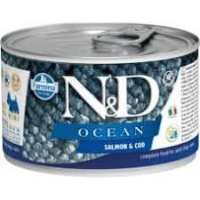 <b>FARMINA N&D</b> OCEAN <b>консервы</b> для собак мелких пород Лосось ...