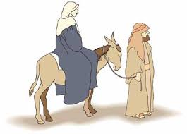 Image result for free mary on donkey images