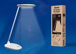 <b>Настольная лампа Uniel TLD-531</b> Grey-White/LED/400Lm/4500K ...