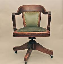 love a library or bankers chair like this for my antique desk antique swivel office chair