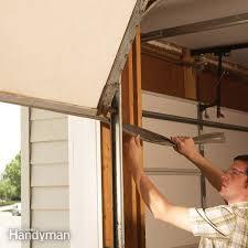 Fixing Garage Door <b>Bottom</b> Seal — The Family Handyman