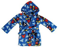 Disney Mickey Mouse Flannel Fleece Robe, Blue: Baby - Amazon.com