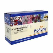 Купить <b>ProfiLine</b> (аналог HP CF403A №201A) <b>Magenta для</b> Color ...