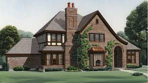 Tudor House Plans and Tudor Designs at BuilderHousePlans comTudor Style House   Plan HWBDO