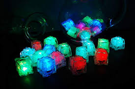 Light-up Ice Cubes, Pack of 12: Battery Lit Ice Cube ... - Amazon.com