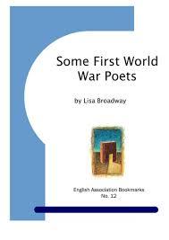 essay on first world war first world war poetry essay   essay topics some first world war poets pamphlet
