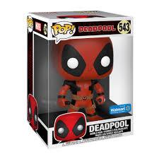 """<b>Funko POP</b>! Marvel: <b>Deadpool</b> - 10"""" <b>Deadpool</b> w/Swords (Red ..."""
