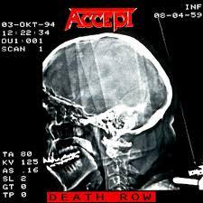 <b>Accept</b> - <b>Death Row</b> (1994, Vinyl) | Discogs