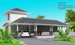 BHK       KeralaHousePlannerStylish Kerala Home Design at sq ft