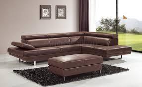 sofa modern brown leather  winafrica