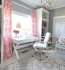 offices home office and grey on pinterest chic home office white