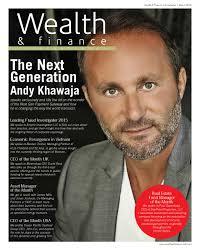 wealth finance by ai global media issuu