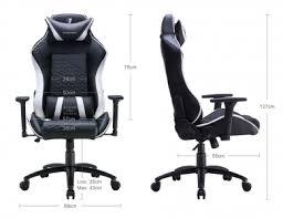 <b>Кресло игровое Tesoro</b> Zone Balance black-white искусственная ...