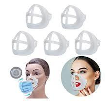 5Pcs Silicone 3D Mask Bracket for Comfortable Mask ... - Amazon.com
